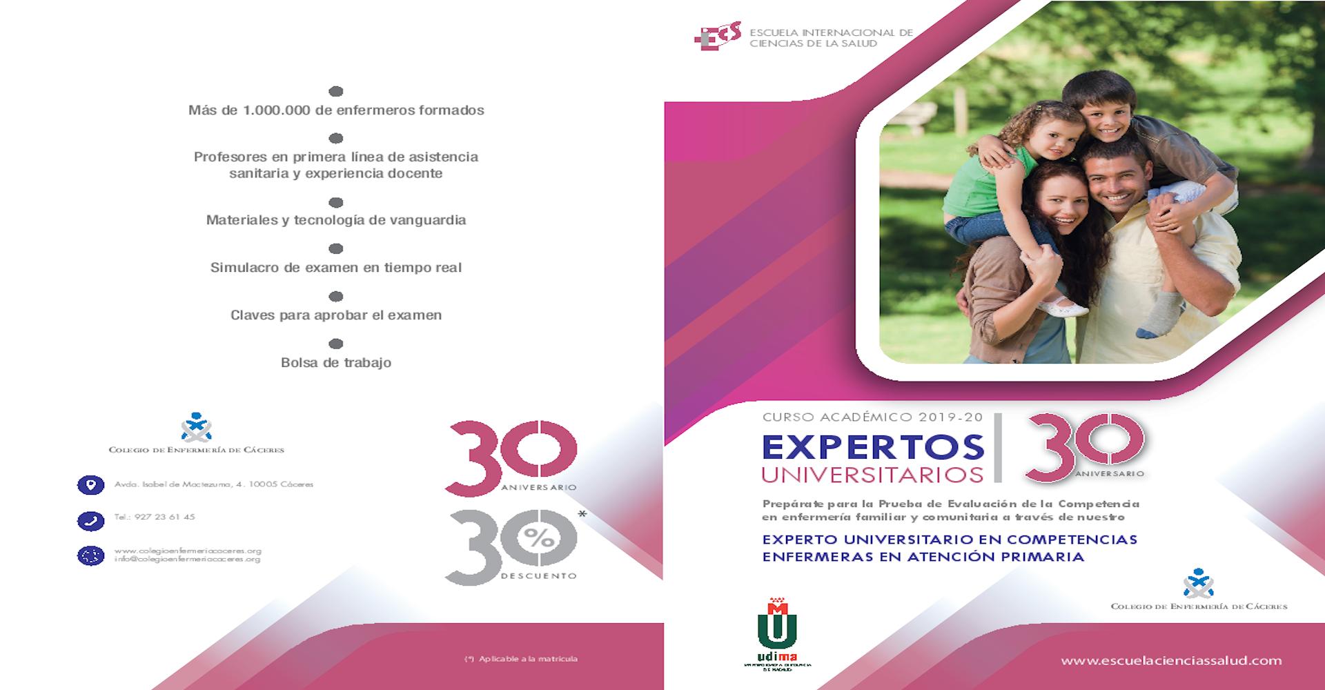 Curso para la prueba de Evaluación de la Competencia en Enfermería Familiar y Comunitaria