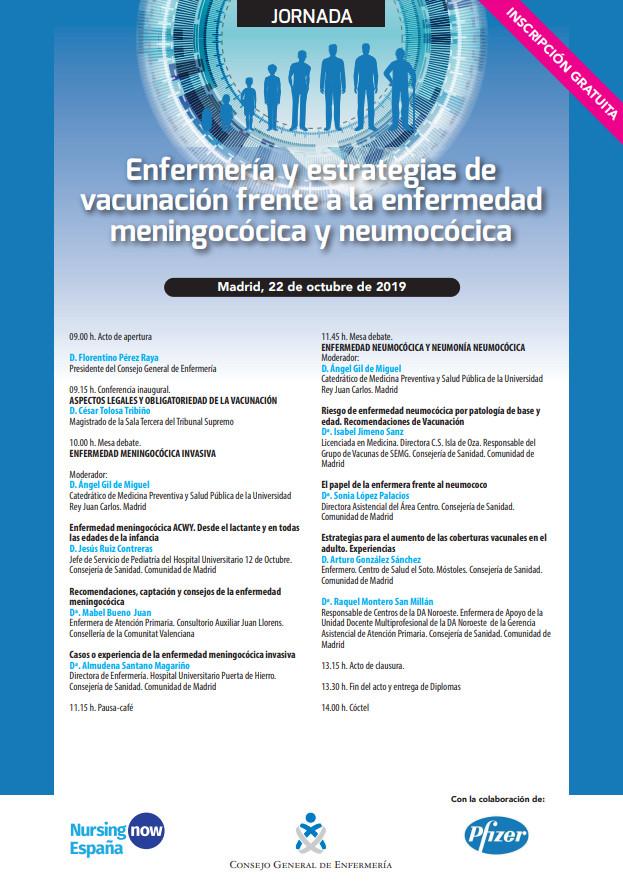 Enfermería y estrategias de vacunación frente a la enfermedad meningocócica y neumocócica