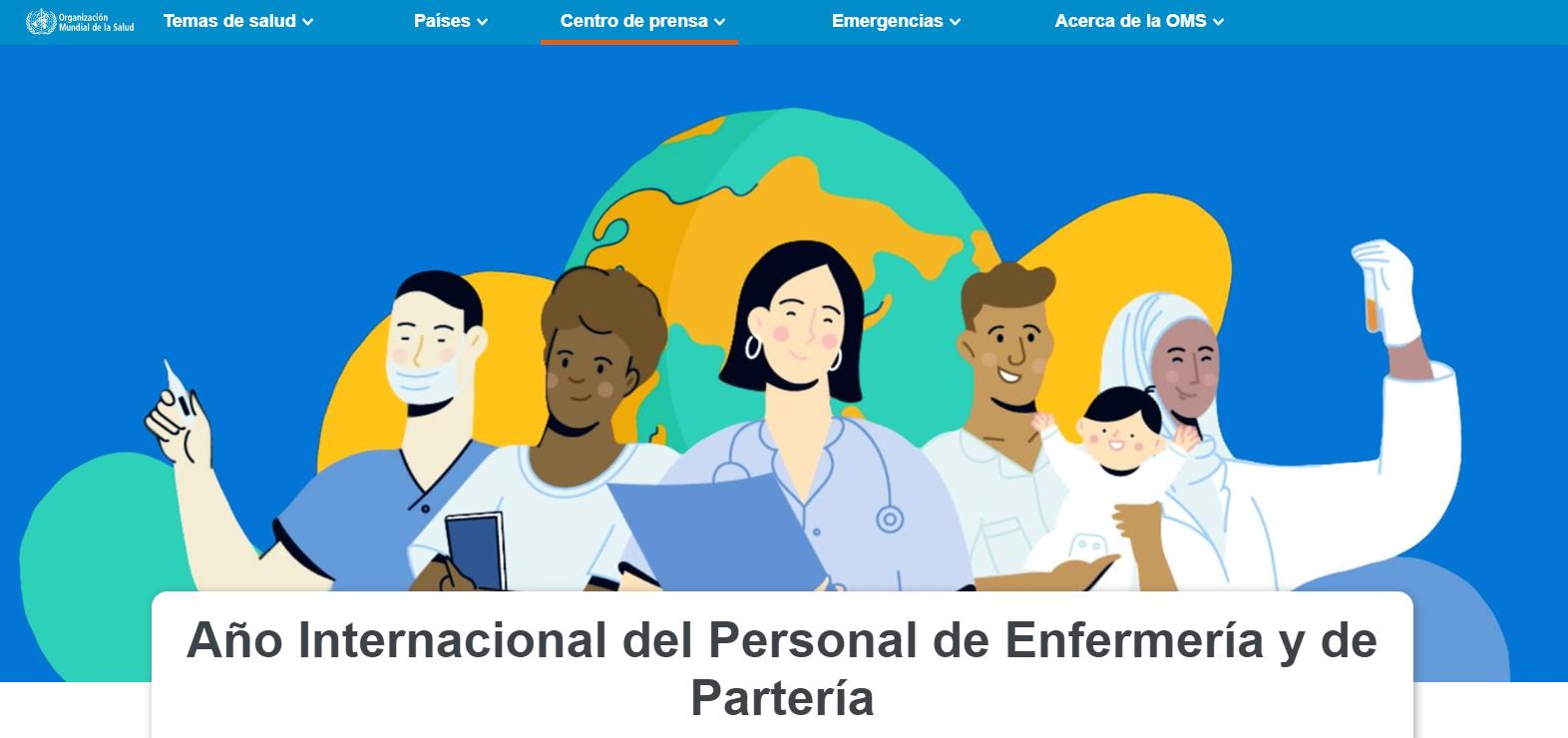 Año Internacional del Personal de Enfermería y de Partería