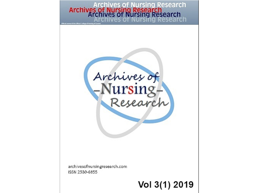Revista Archives Nursig Research