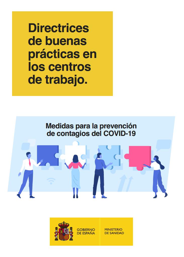 Directrices de buenas prácticas en los centros de trabajo ante COVID-19