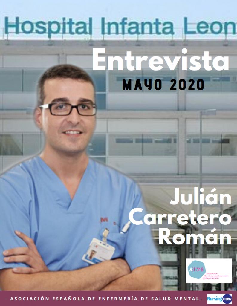 Entrevista Julián Carretero NursingNow AEESME