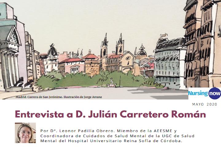 Entrevista Julián Carretero NursingNow AEESME Mayo 2020
