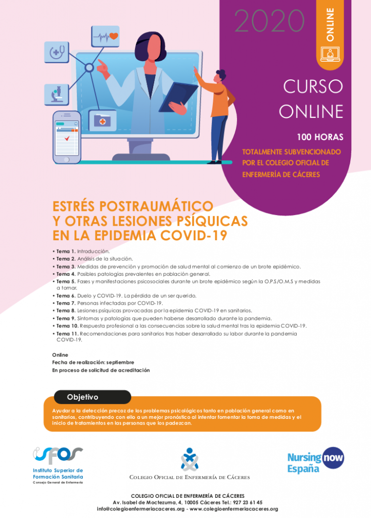 Curso ISFOS Cáceres