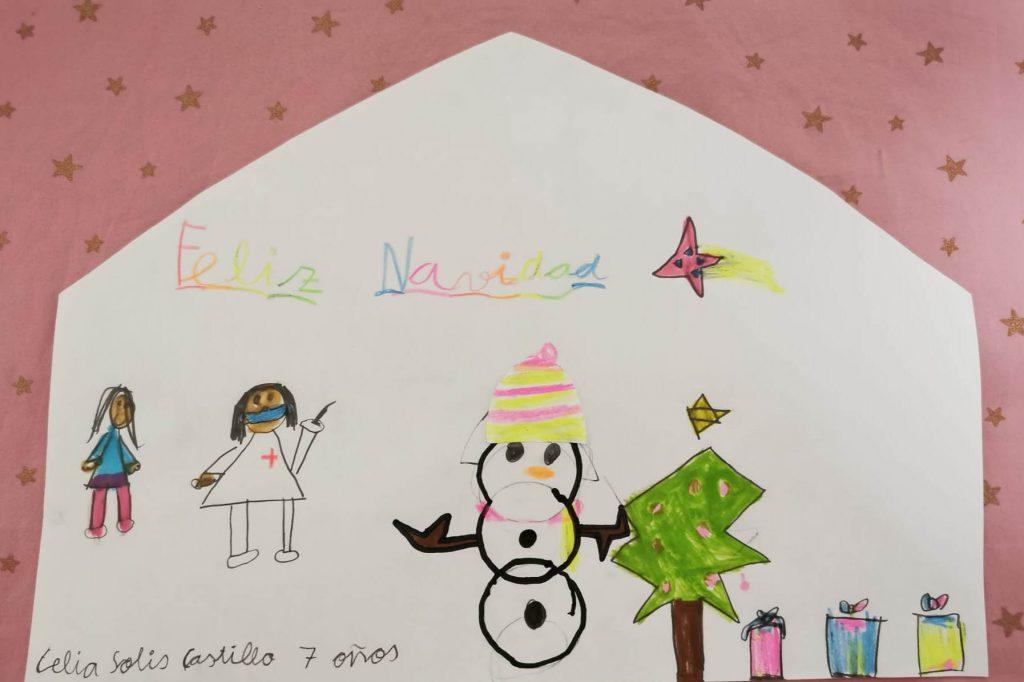 Celia Solís Castillo - 7 años