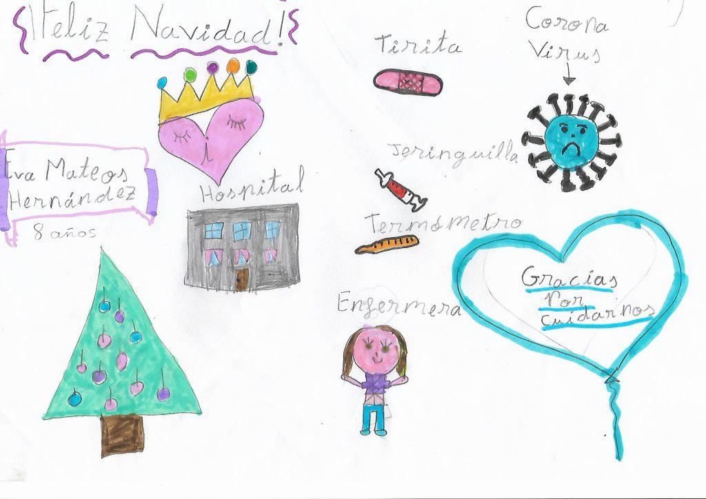 Eva Mateos Hernández - 8 años