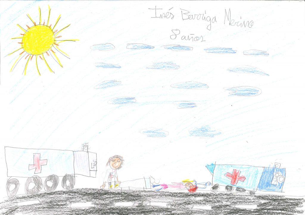 Inés Barriga Merino - 8 años