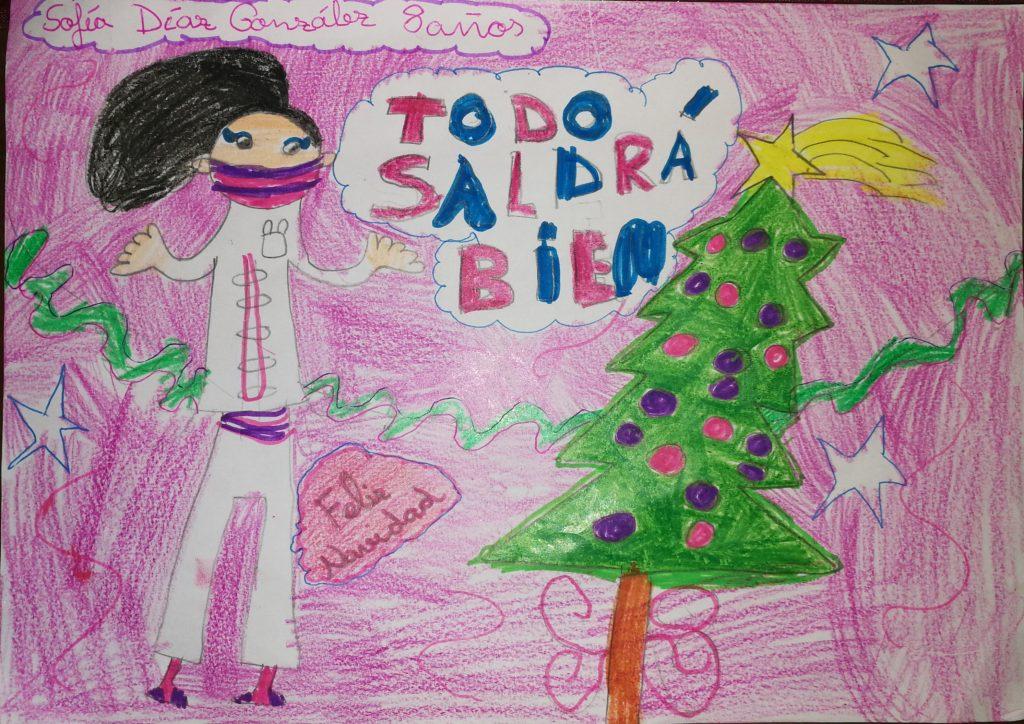 Sofía Díaz González - 8 años