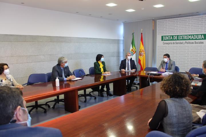 Presentación campaña vacunación COVID-19 - Extremadura