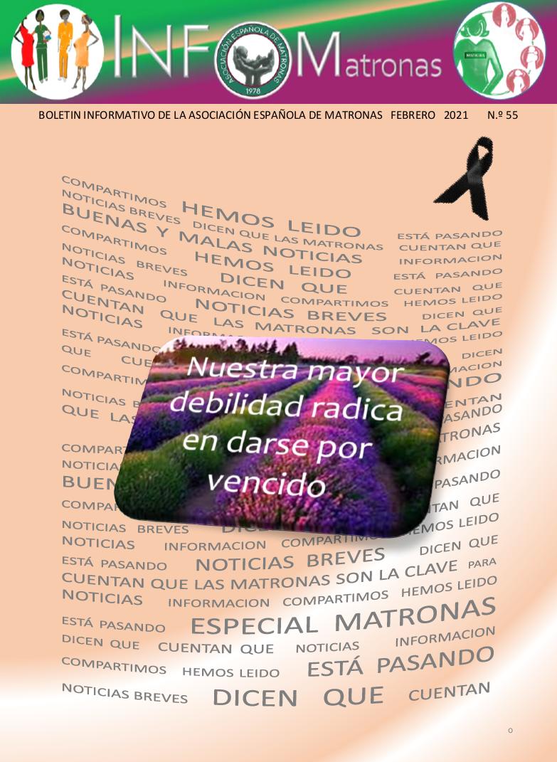 Revista Infomatronas - febrero 21